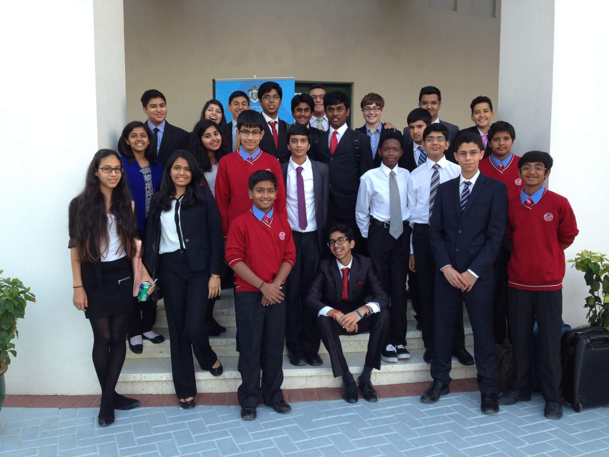 Team Photo Debate Dubai
