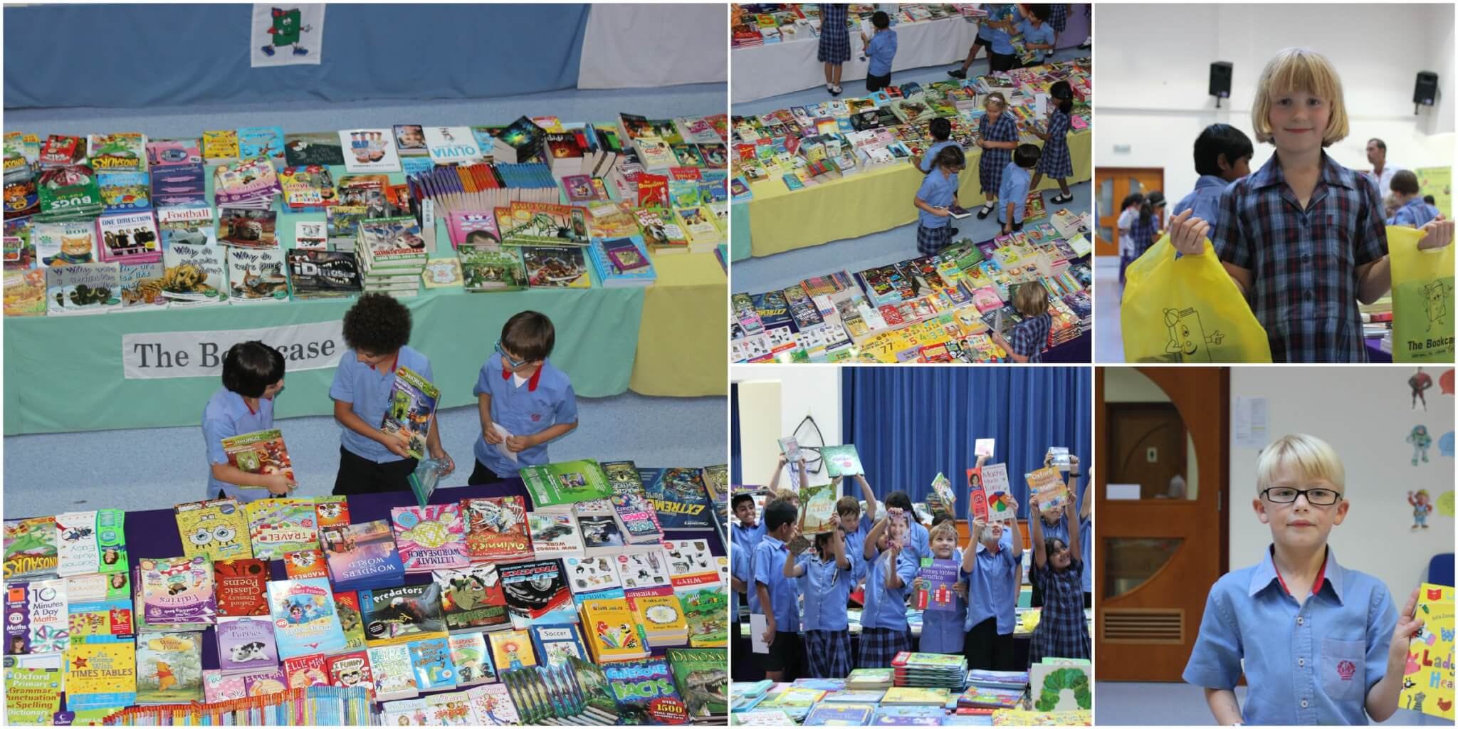 Bookcase Book Fair