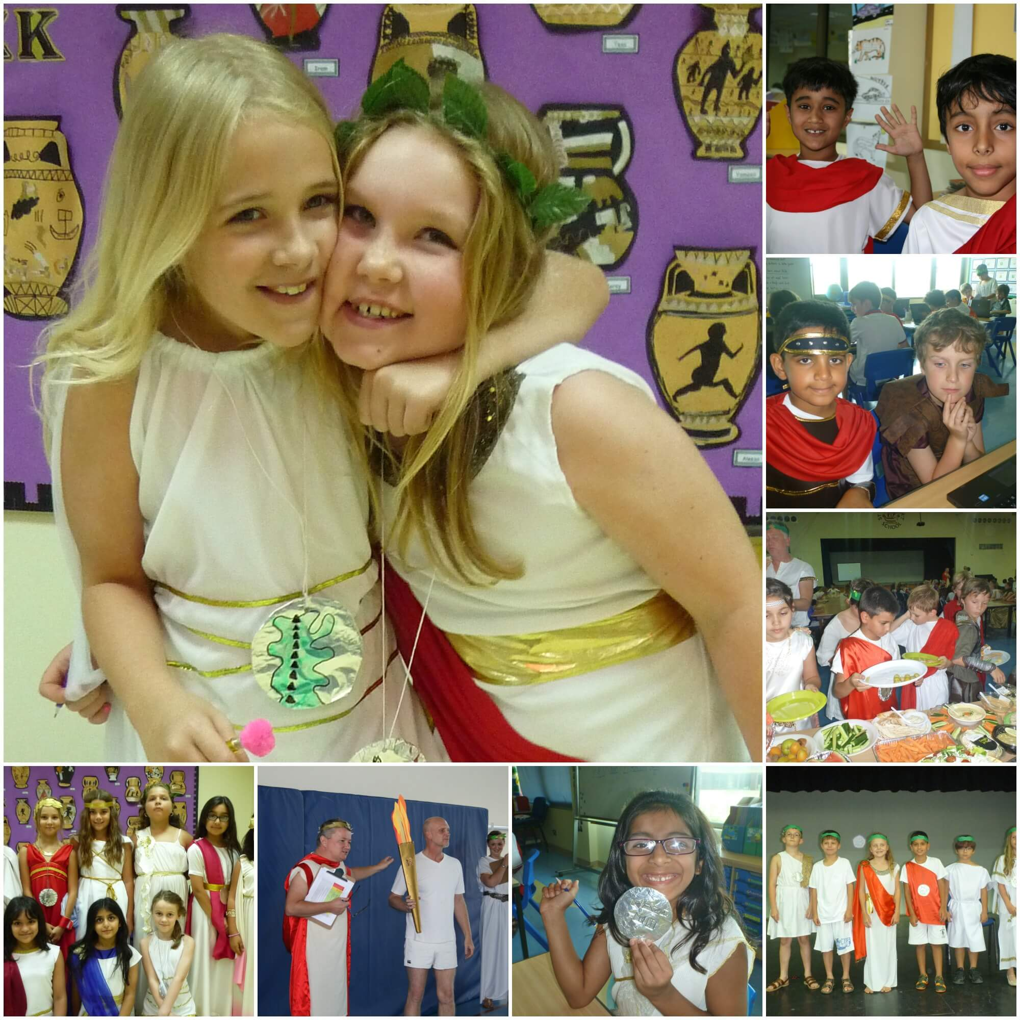 Year 4 Greek Day