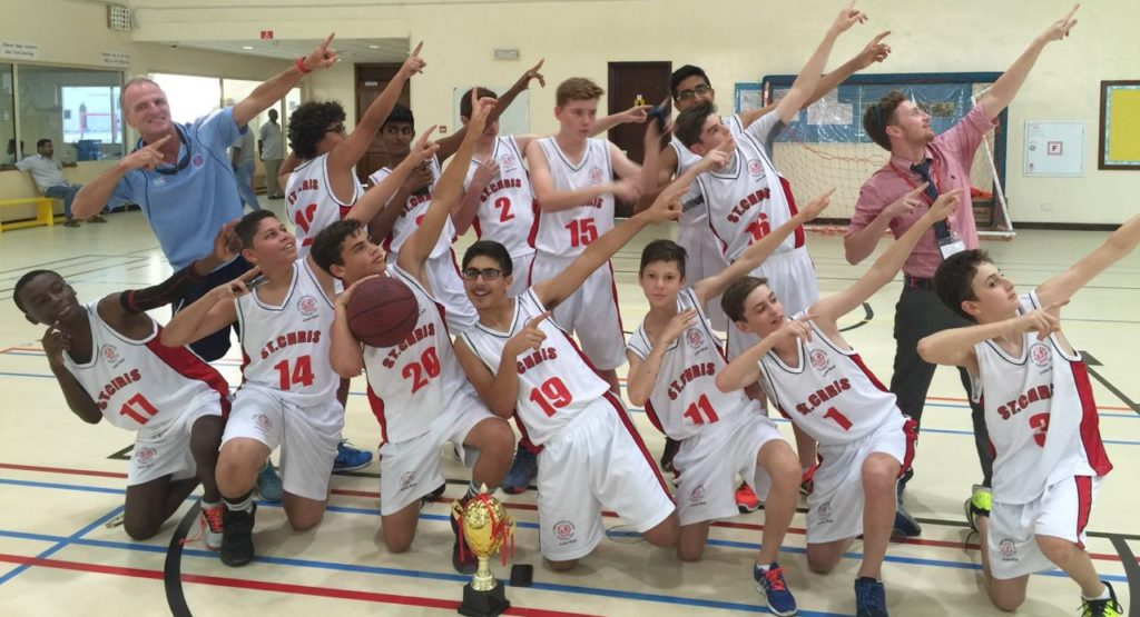Junior Boys BB Champions