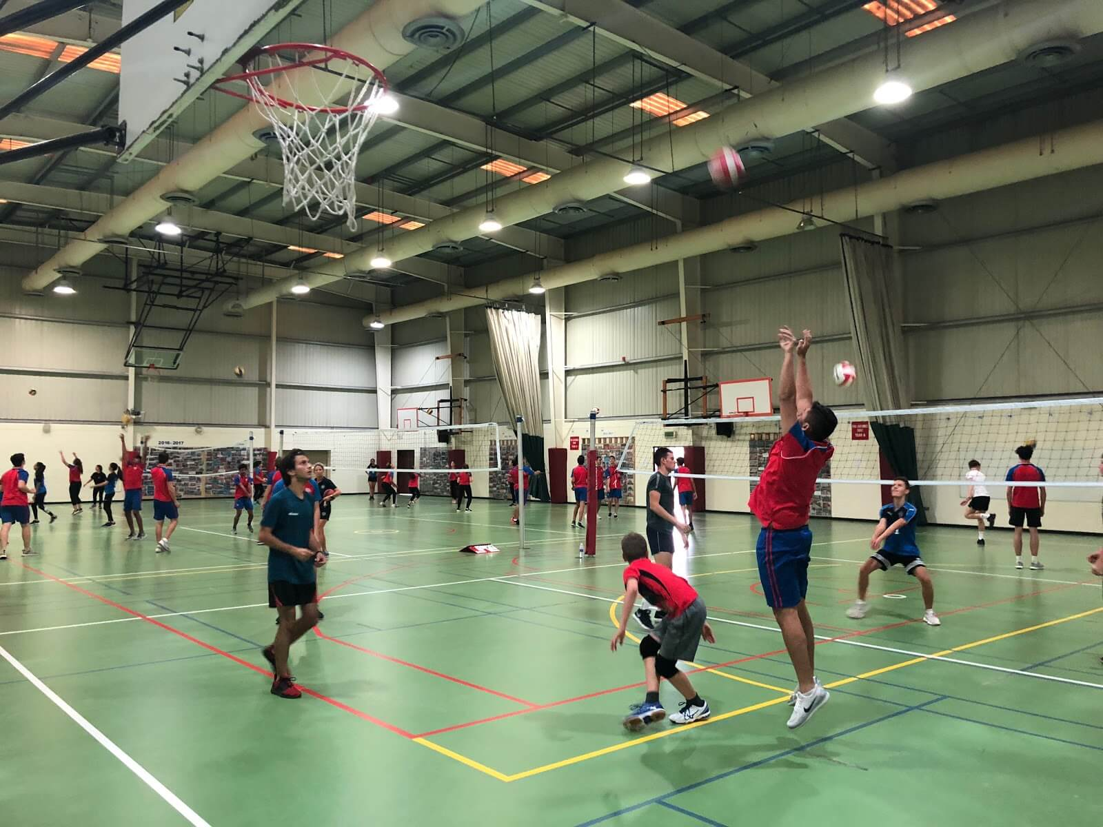 Volleyball season: It is currently volleyball season for both boys and girls in all Year Groups and, depending on whether you are a Junior, Intermediate or Senior, you are given the opportunity to practice your competitive skills in tournaments with other schools. I feel taking part is very important as it can give you time to de-stress from the pressure of GCSE's and A levels, and give you time to relax and compete. There are also A and B teams this year and ongoing training sessions for all which means more people have a greater chance of participating and getting involved.