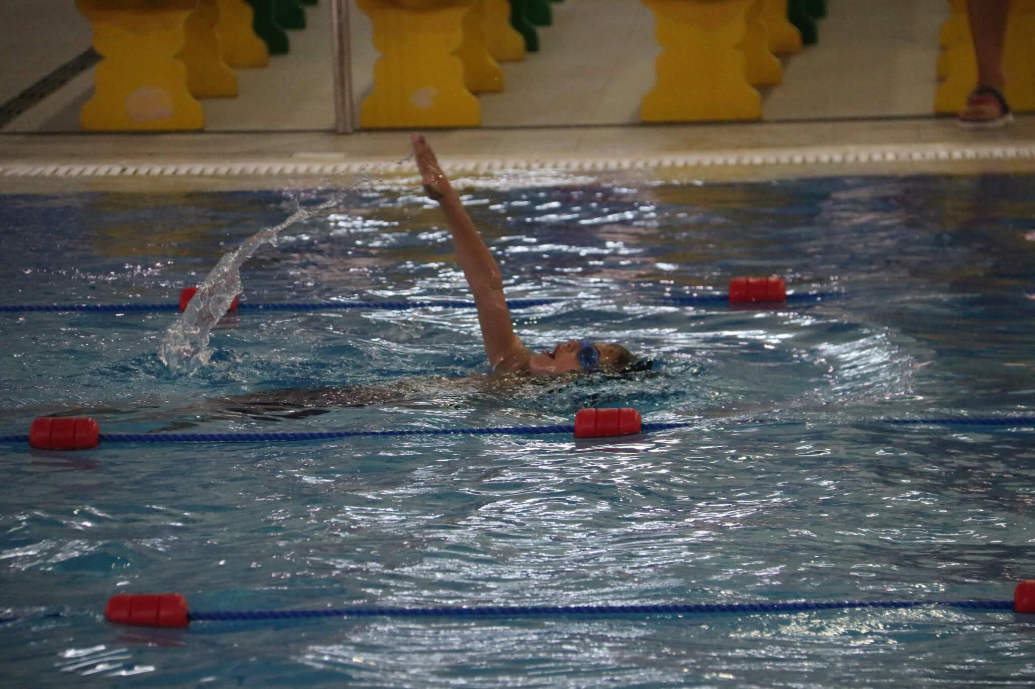 Yr3 Swim Trials - Mark Holness
