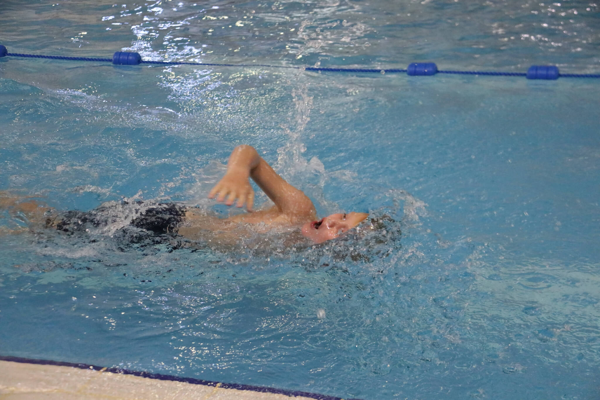 Yr4 Swim Trials - Mark Holness