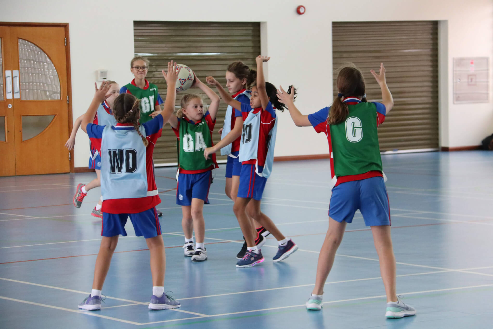 Yr5 Netball - Mark Holness