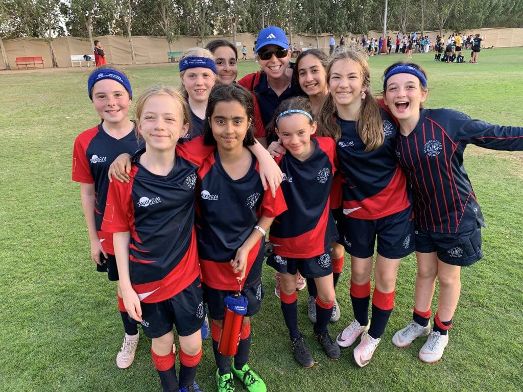 Girls Football Win - Stephen Dales