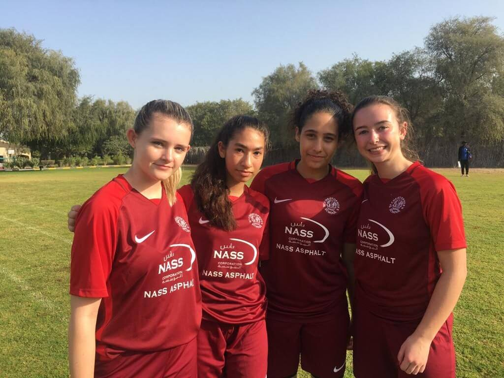 Jessie, Celine, Amna and Kate - Monika Subbiani