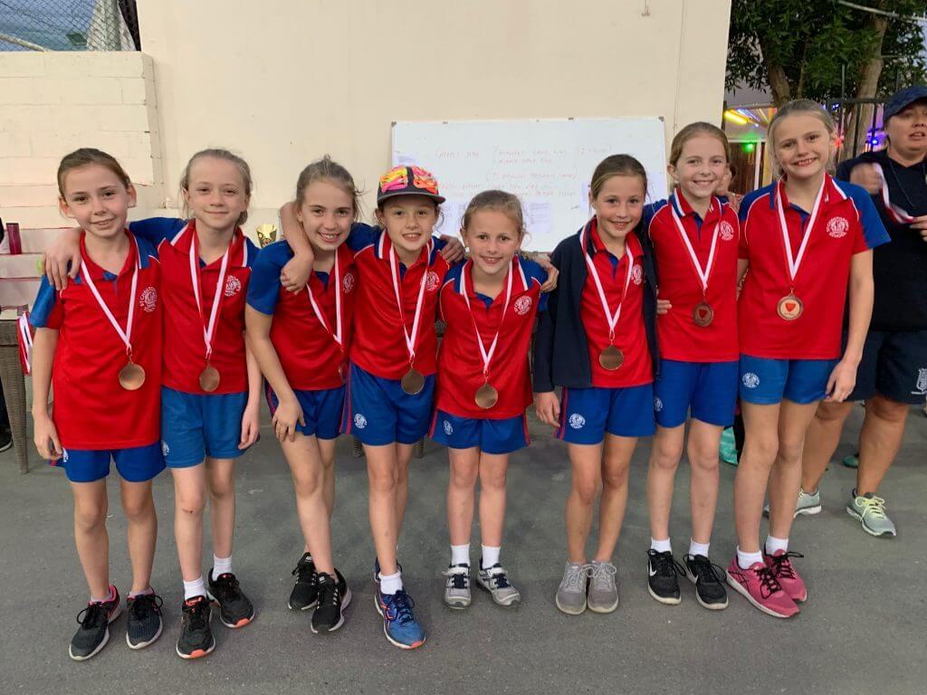 Lightning 3rd place medals - Rebecca Lambert