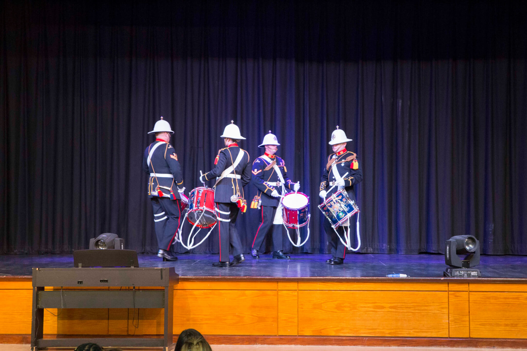 Royal_Marines_Band_Visit_045