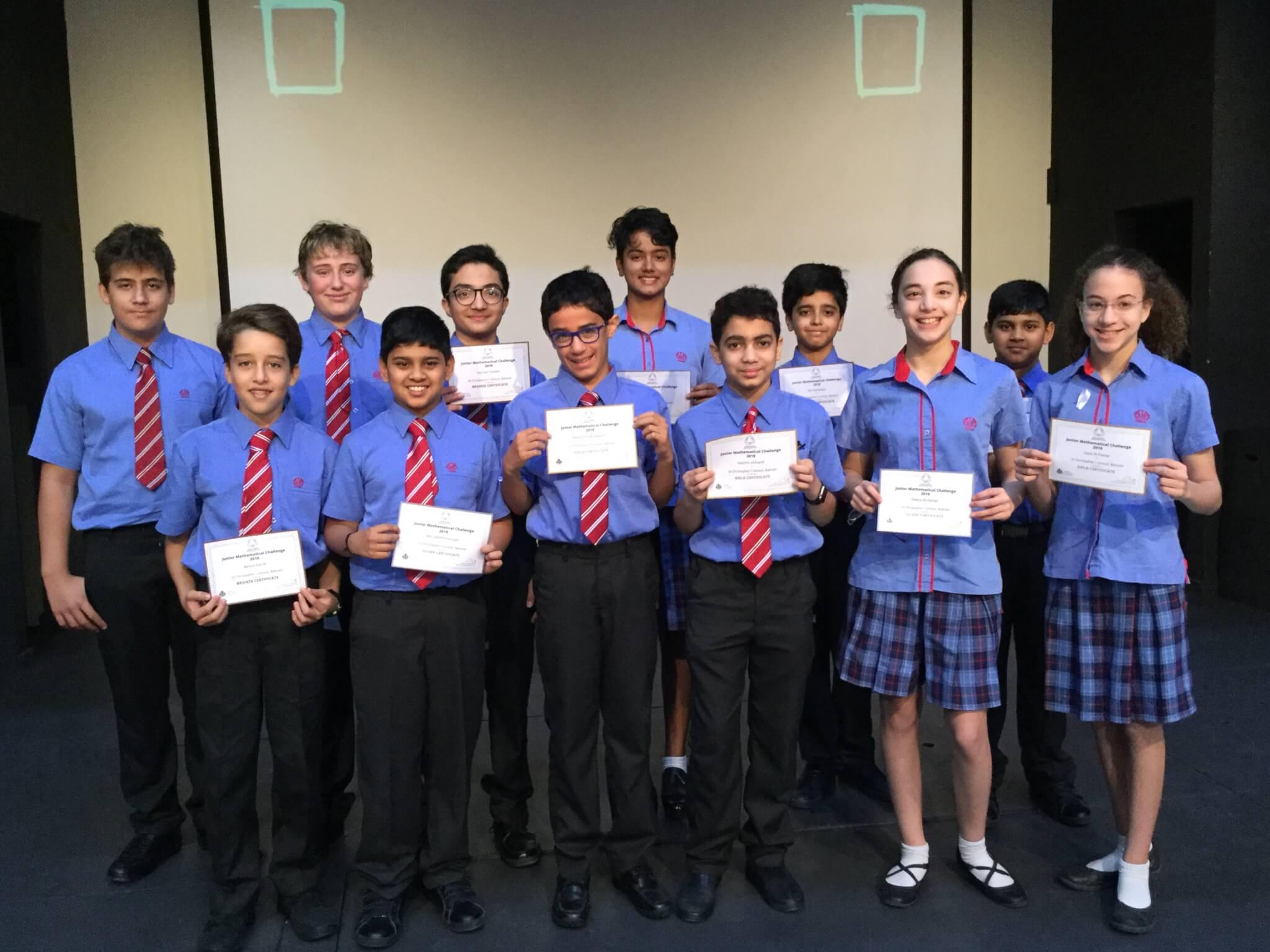 Junior UK Maths Challenge Award Winners - Kevin Stewart