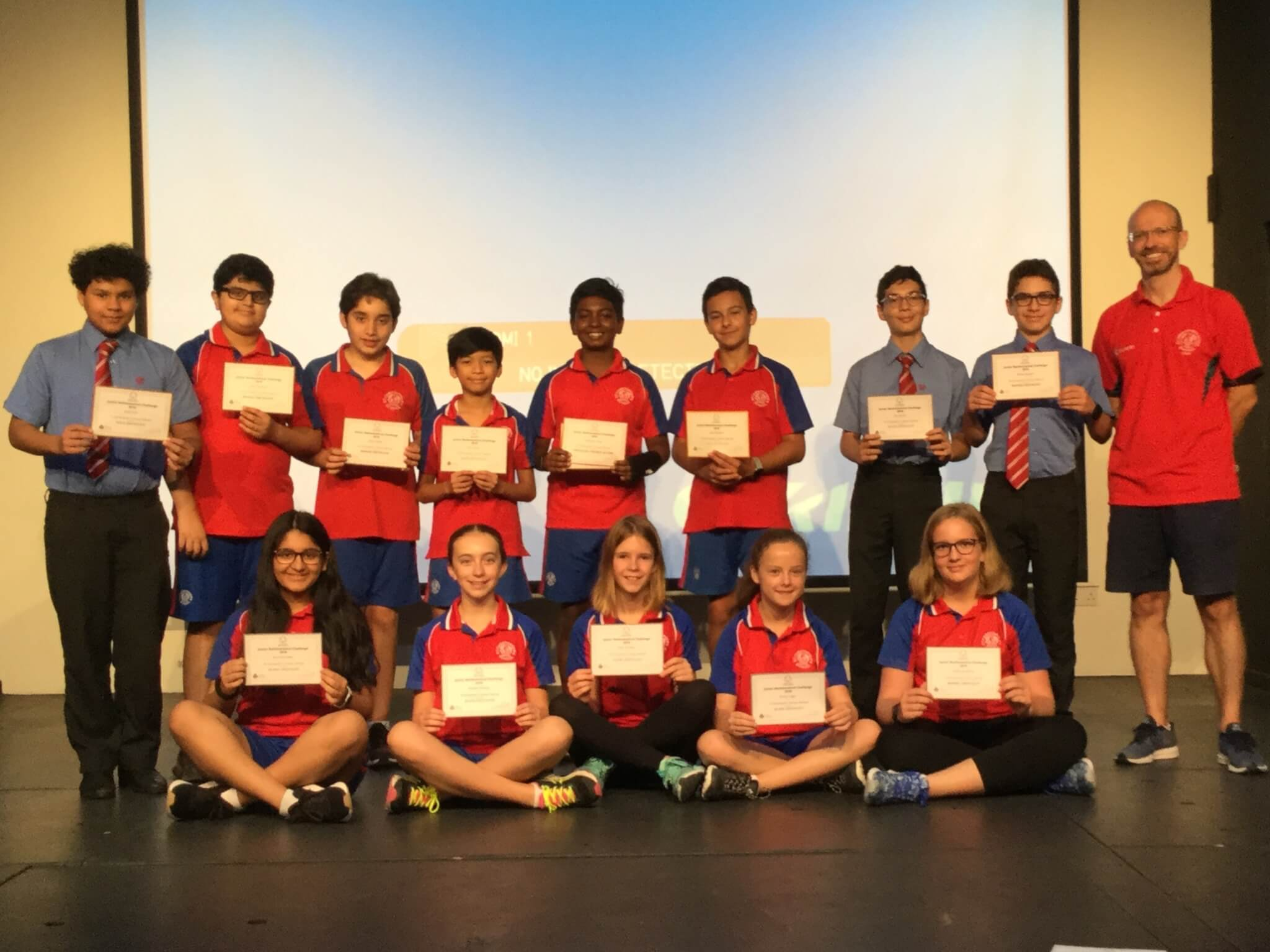 Junior UK Maths challenge winners 2 - Kevin Stewart
