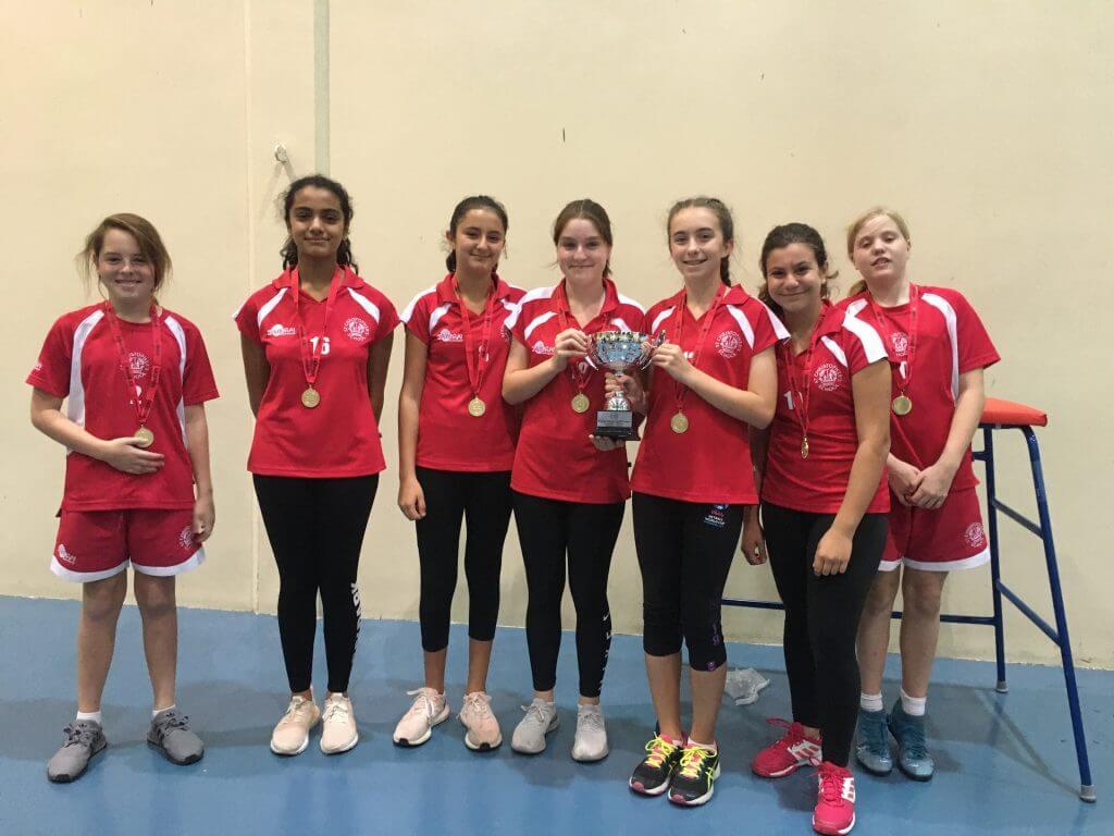 U13 Girls Tourament winners - Helen Stewart
