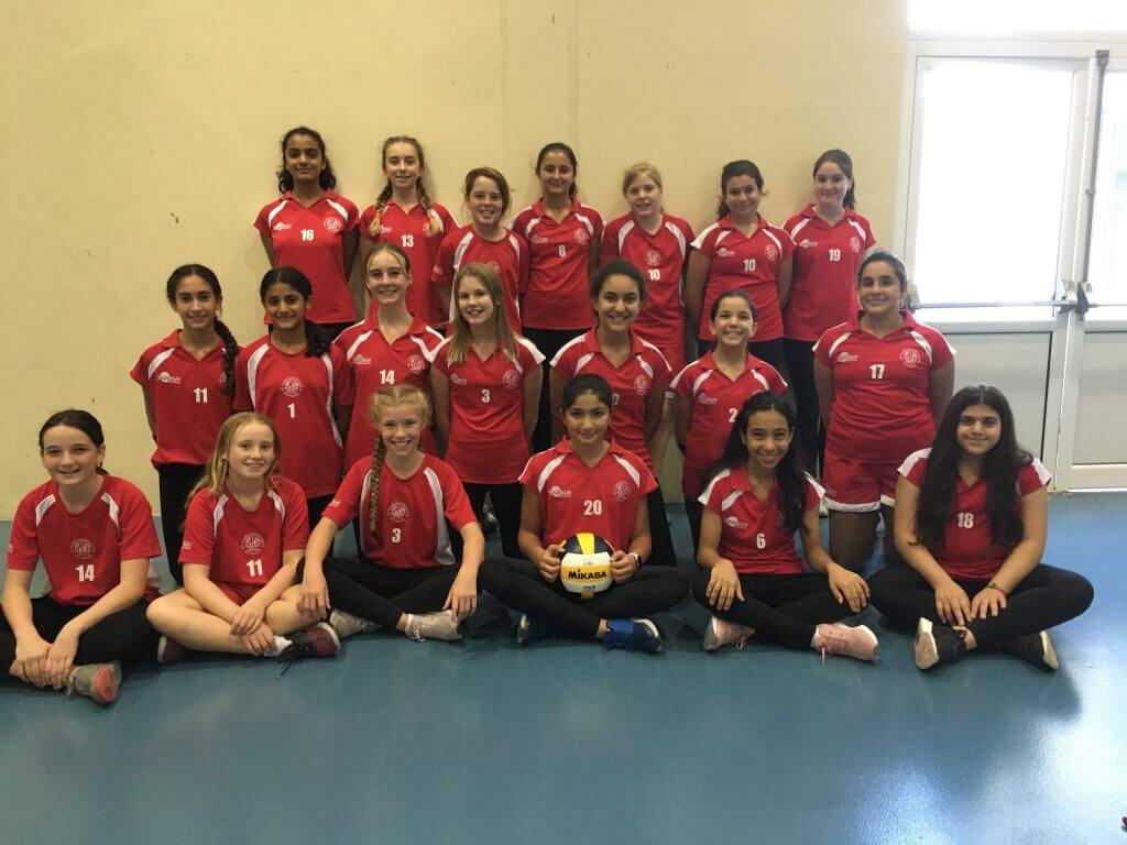 U13 Girls Volleyball Squad - Helen Stewart