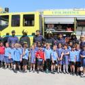 Y2 Visit Fire Station